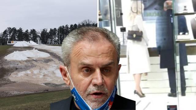 Bandić troši novac na umjetni snijeg na +18 °C i okolo hoda po zlatarnama s gosp. Bundić