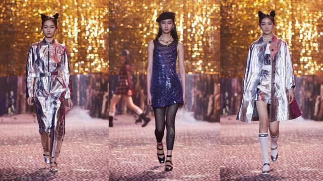 Dior otvara novu stilsku etapu s naglaskom na glitter i srebro