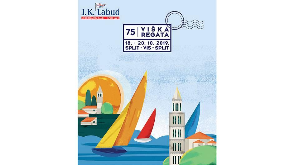 75. Viška regeta - tradicija jedrenja u najboljem izdanju