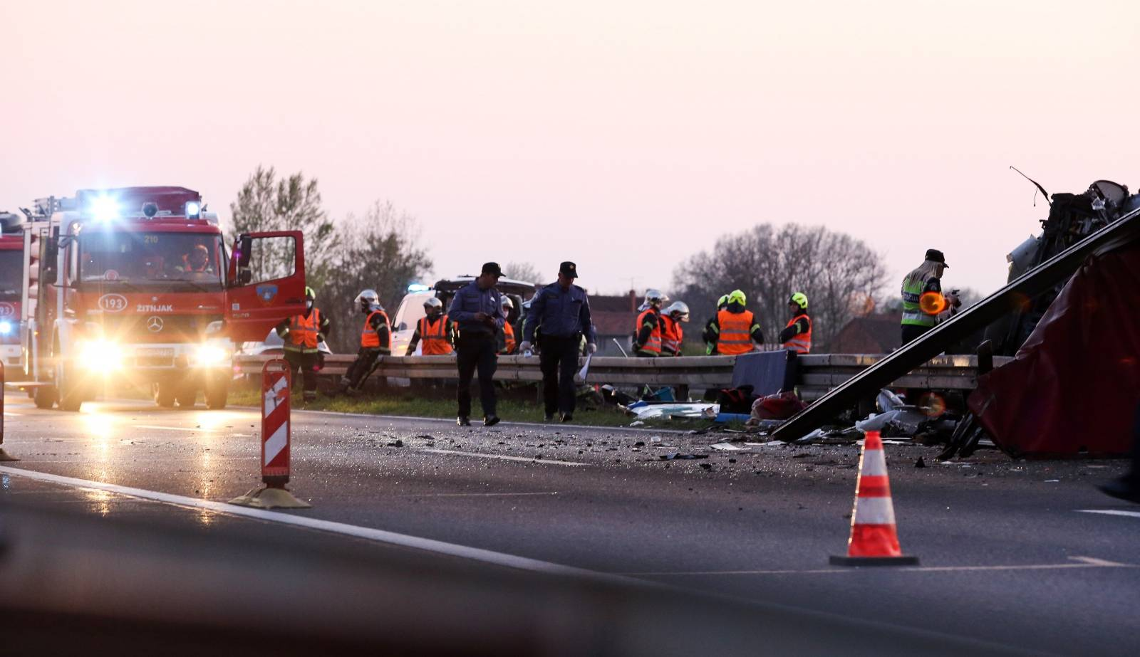 Zagreb: Jedna osoba smrtno stradala u prometnoj nesreći na obilaznici
