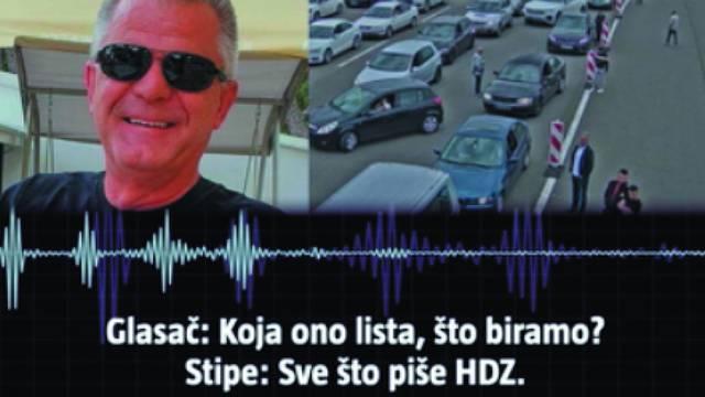 """Poslušajte upute """"glasaču"""" iz Hercegovine: """"Koja je ono lista? Što biramo? Sve što piše HDZ"""""""