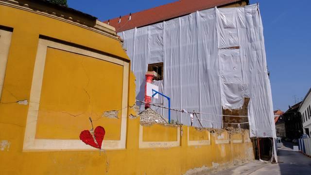 Zagreb: Obnova Gimnazije Tituša Brezovačkog na Gornjem gradu