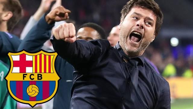 Pochettino stiže u Barcu! 'Već je večerao s predsjednikom kluba'