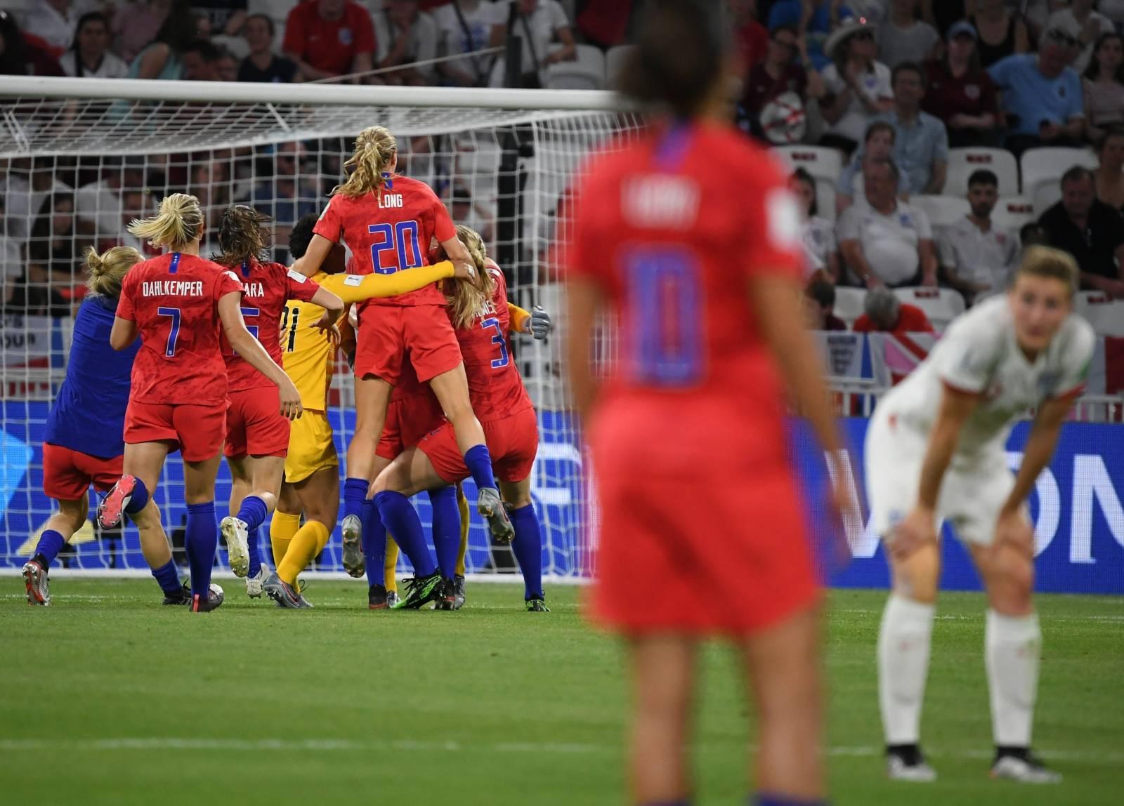 Women's Football World Cup - England - USA