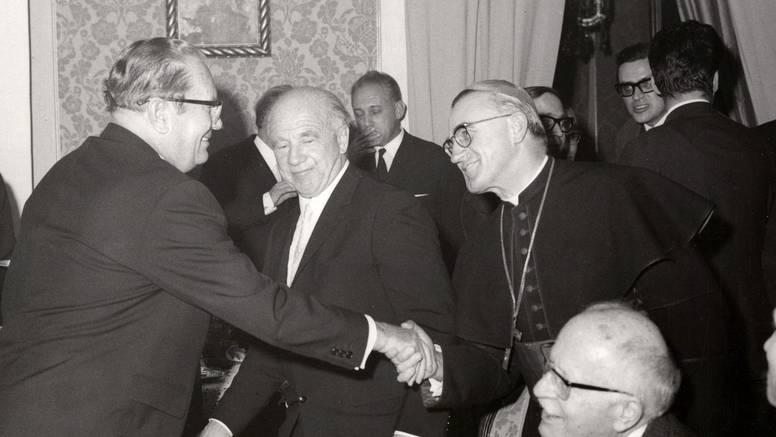 Nikad viđene fotografije Josipa Broza Tita i Franje Kuharića