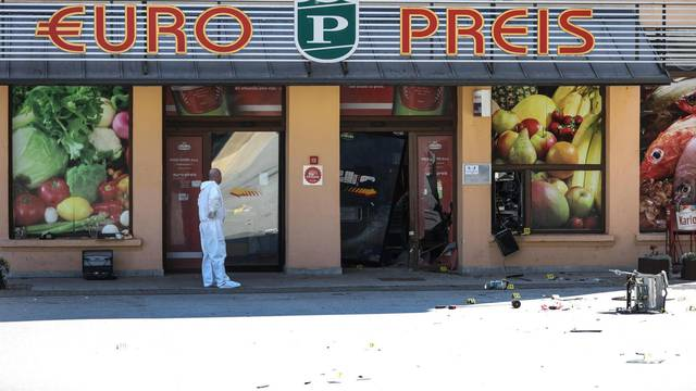 Eksplozija u Oroslavju: Usred noći lopovi raznijeli bankomat