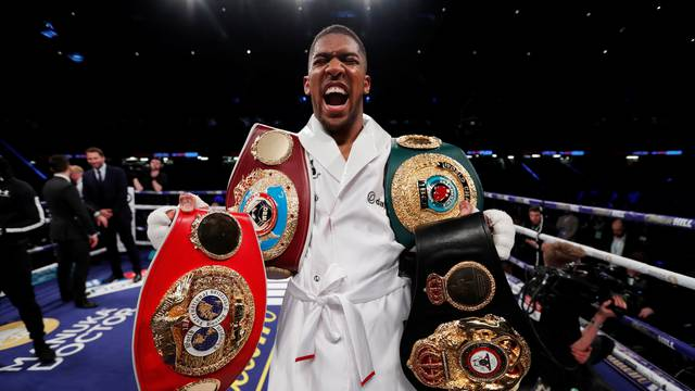 Anthony Joshua v Joseph Parker - World Heavyweight Title Unification Fight