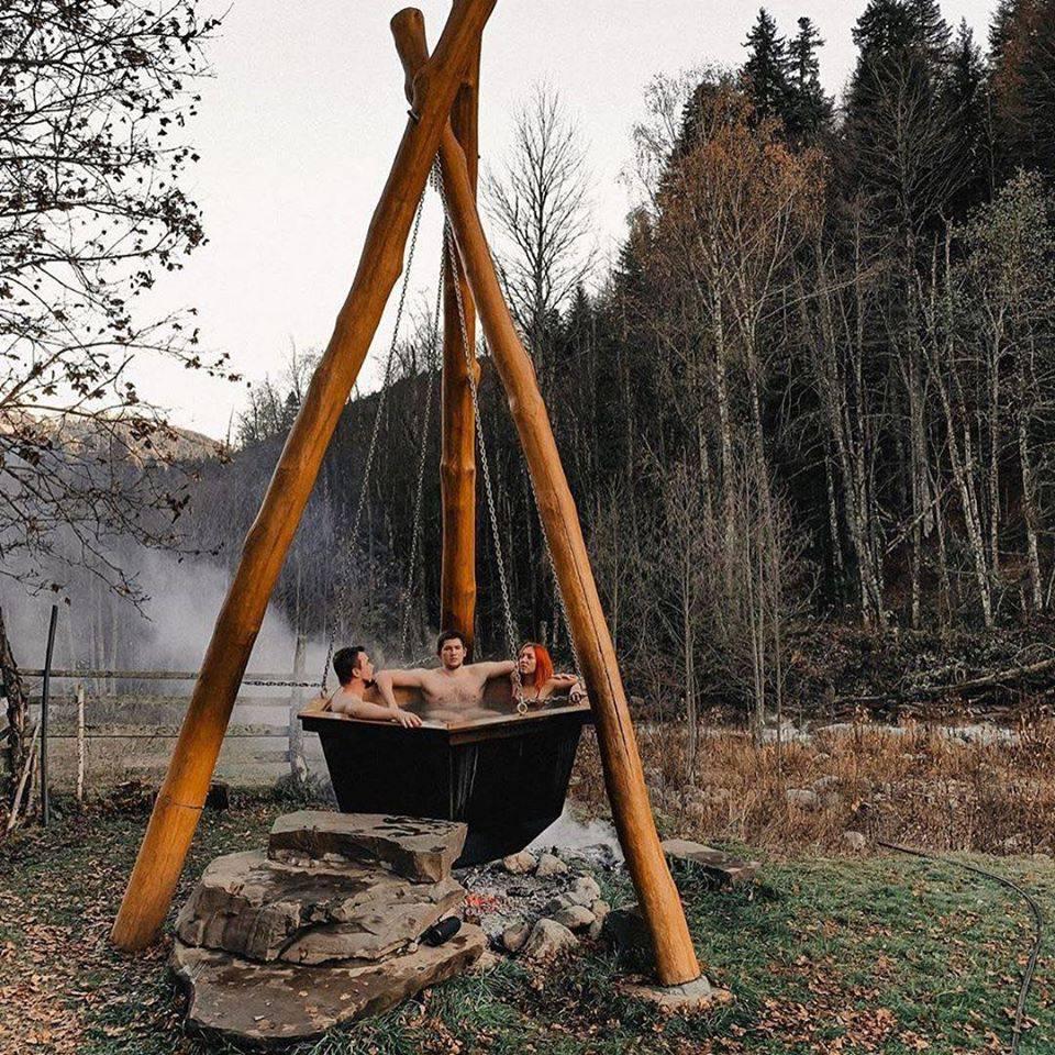 Drvene kućice s prekrasnim krajolikom pravo su mjesto za odmor i bijeg od svakidašnjice