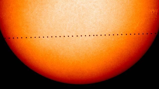 Rijedak fenomen: Pratite kako Merkur prolazi ispred Sunca