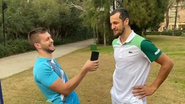 Mektić intervjuirao Pavića: Lijep vam je i zgodan novi partner...