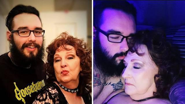 Seksi baka (76) i mladi lav (23): U braku su i snimaju porniće