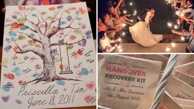 10 super ideja za nezaboravno vjenčanje - i odlične uspomene