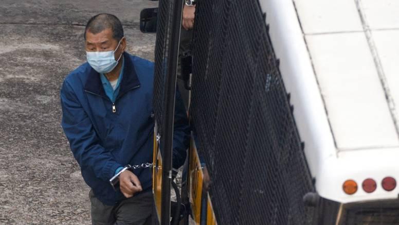 Optužen medijski tajkun Jimmy Lai, gorljivi kritičar Pekinga