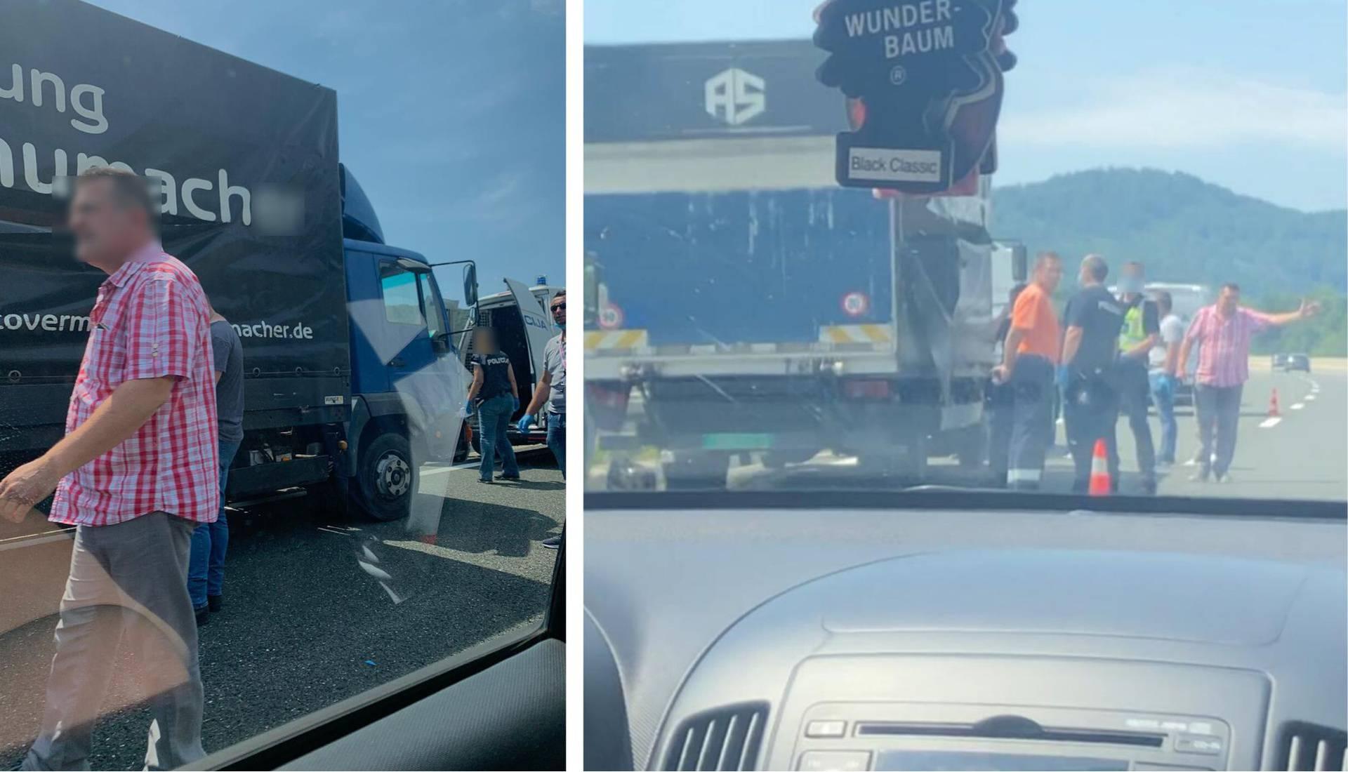 Migrante pronašli u kamionu, policija traga za vozačem