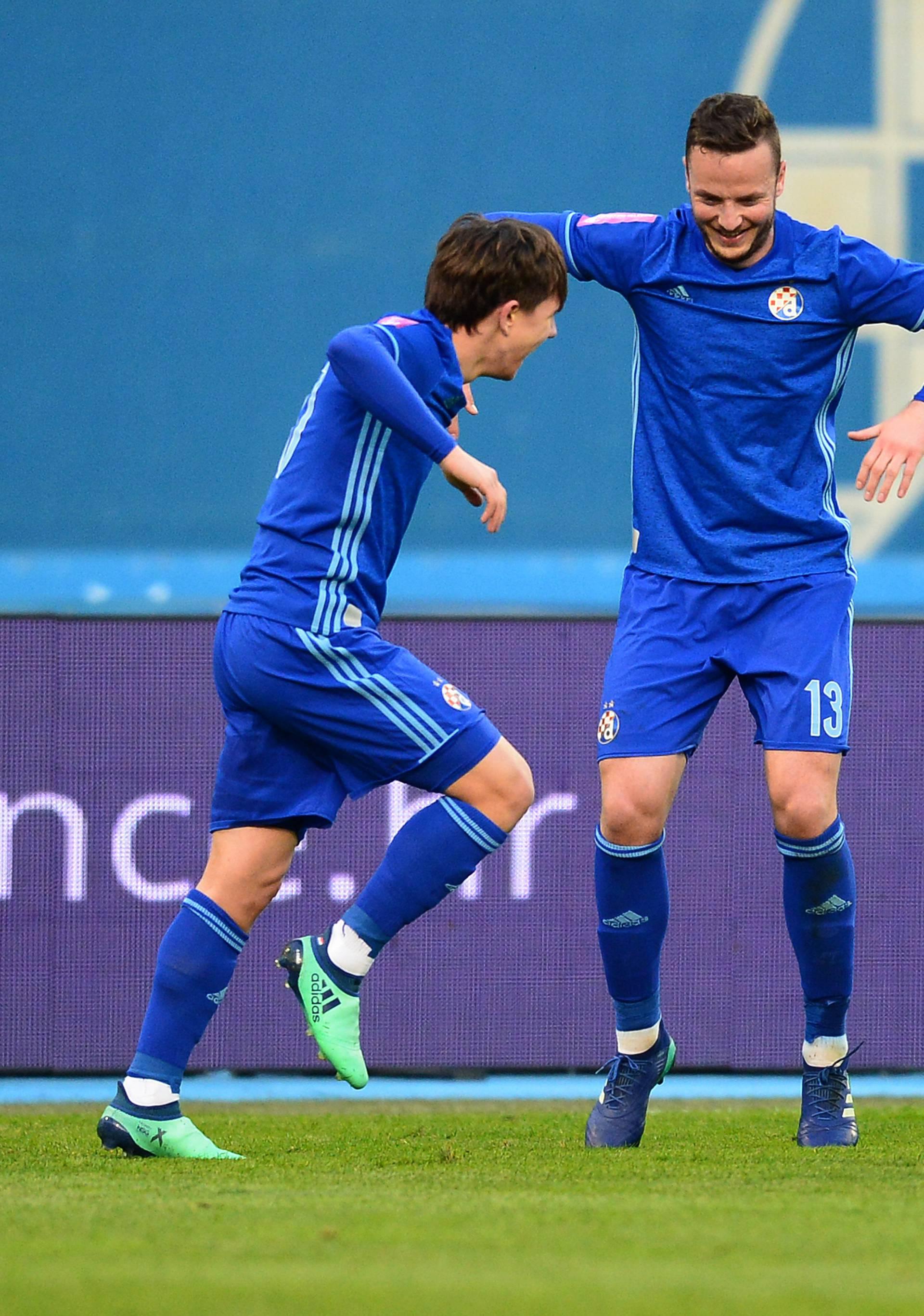 Dinamovci su gol protiv Rijeke proslavili plesom iz videoigre...