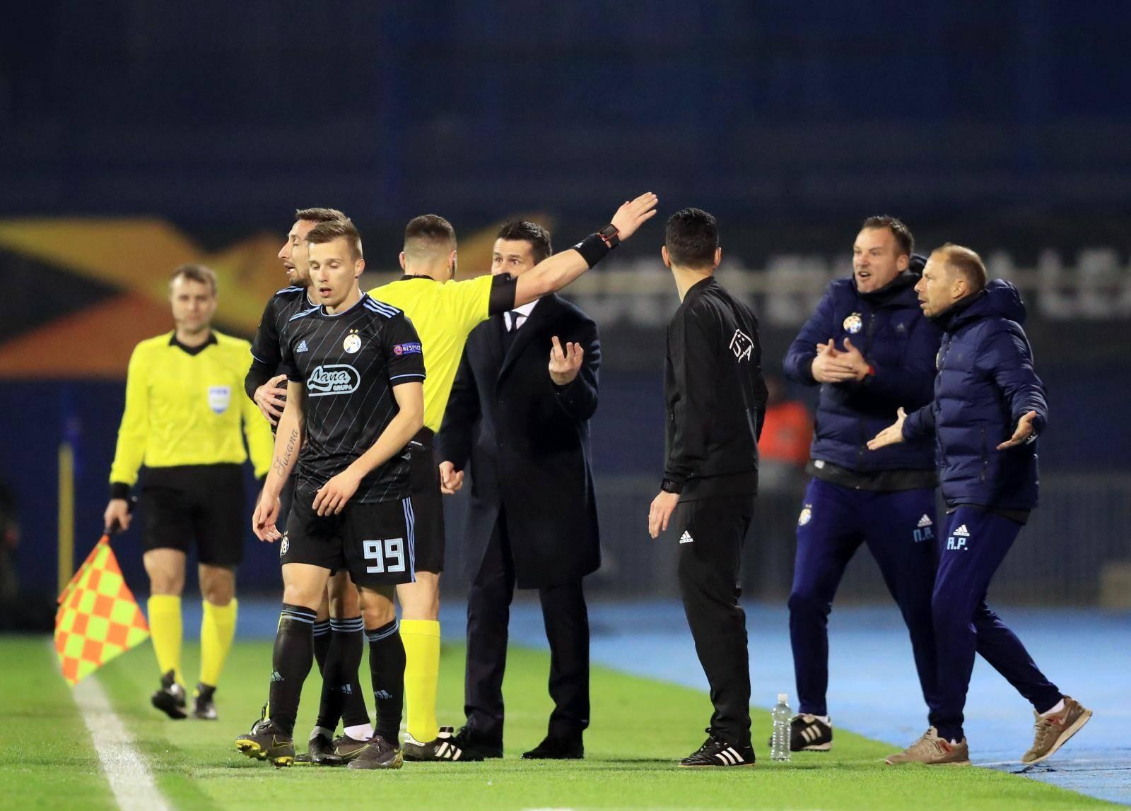 Zagreb: Trener Bjelica isključen u posljednjim minutama prvog poluvremena