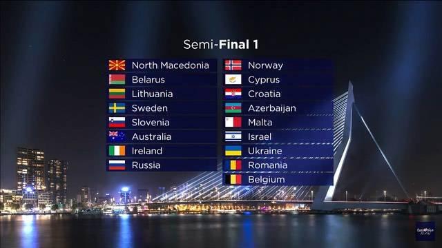 Hrvatska će nastupati u prvoj polufinalnoj večeri Eurosonga