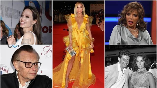 Holivudski kraljevi razvoda: Vjenčavali su se i do osam puta