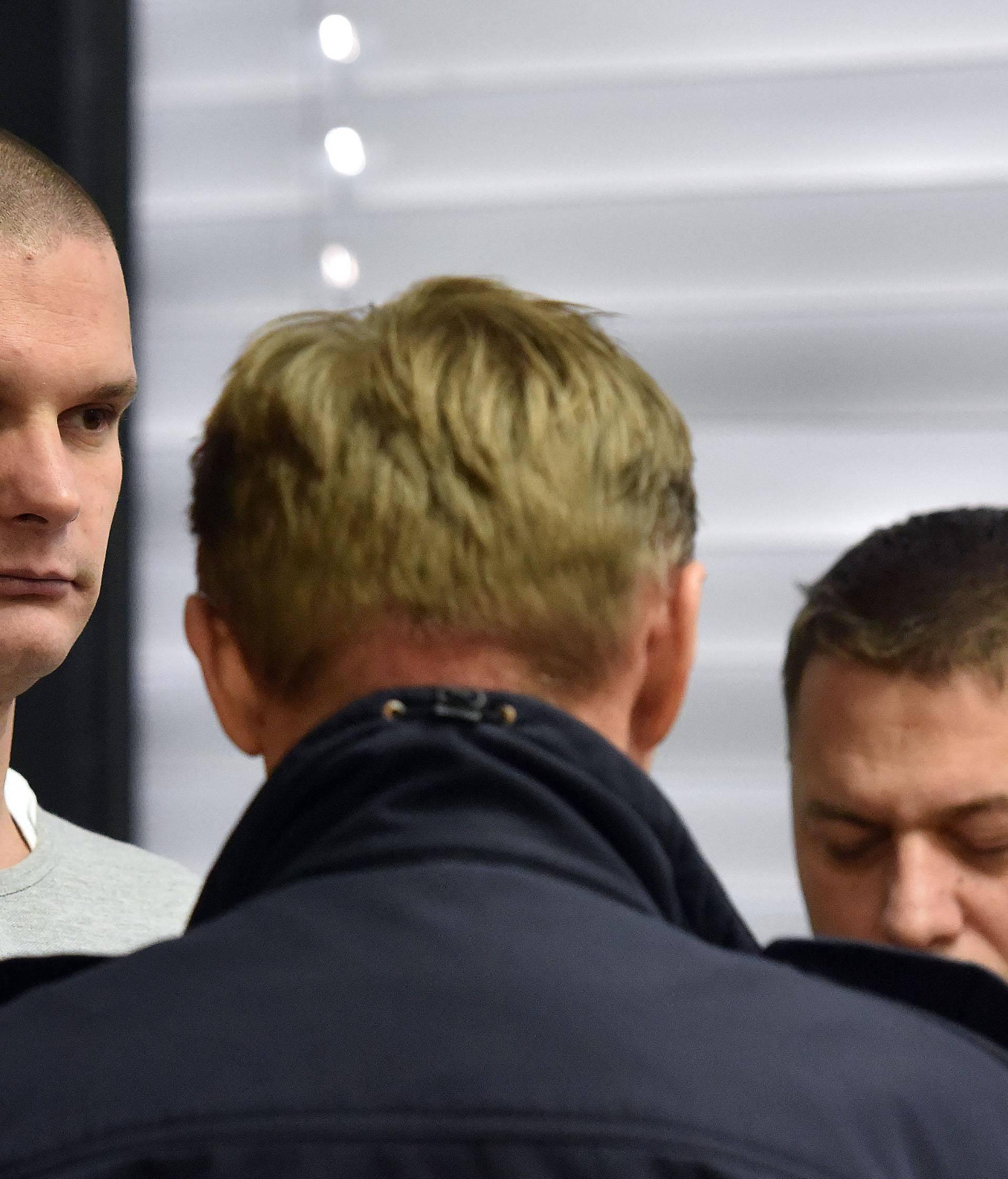 Šišaković na suđenju rekao da se boji sutkinje i traži izuzeće