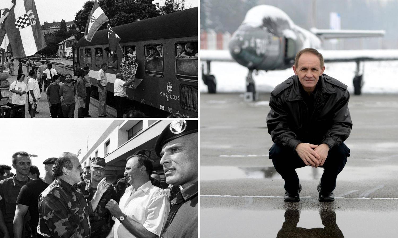 Tajni čuvar 'Vlaka slobode':  Na Tuđmana sam pazio iz zraka...
