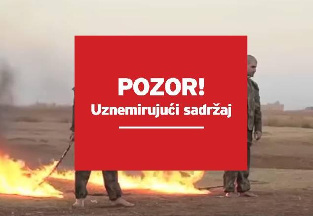Novi ISIL-ov užas: Svezali su turske vojnike i žive ih zapalili