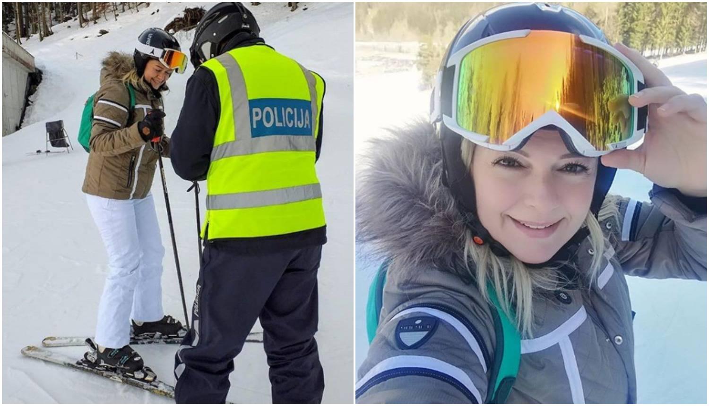 Na stazi za skijanje završila je na alkotestu: Minea, aj ti puši!