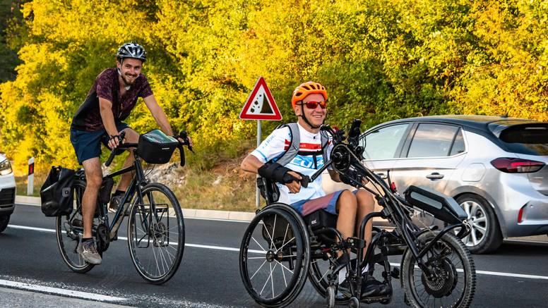 'Bicikliram 1000 kilometara jer želim da i drugi poput mene putuju i budu posve samostalni'