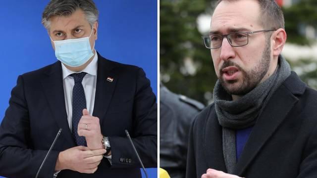 Plenkoviću pao rejting, na treće mjesto najpozitivnijih političara došao Tomašević iz Možemo!