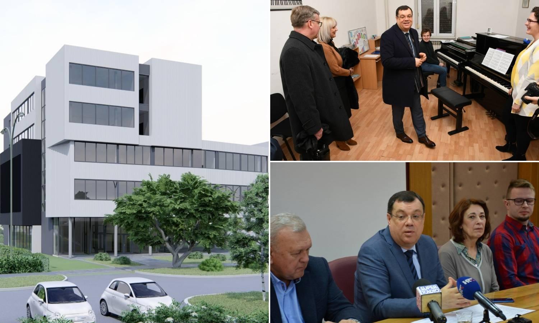 U Bjelovaru se gradi glazbena škola vrijedna 20 milijuna kuna