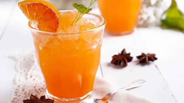 Recept za punč sa sorbetom od naranče koji mogu piti i djeca