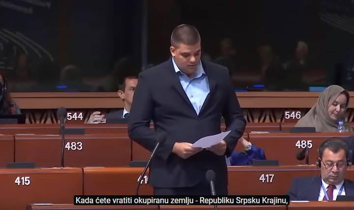 Šešeljev sin vrijeđa Hrvatsku: 'Kad ćete nam vratiti Krajinu?'