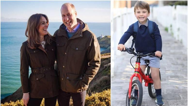 Princ Louis slavi 3. rođendan, a William i Kate objavili su fotku mališana na crvenom biciklu