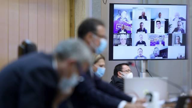 Zagreb: 14 zastupnika glasovalo putem videopoziva, Sabor ide na dvotjednu stanku