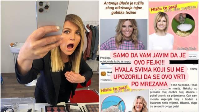 Antoniju Blaće iskoristili su za internet prevaru: 'Ovo je fejk'