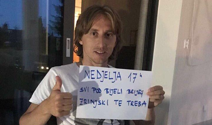 Zrinjskom meč-lopta za titulu: Modrić i Subašić poslali poruku
