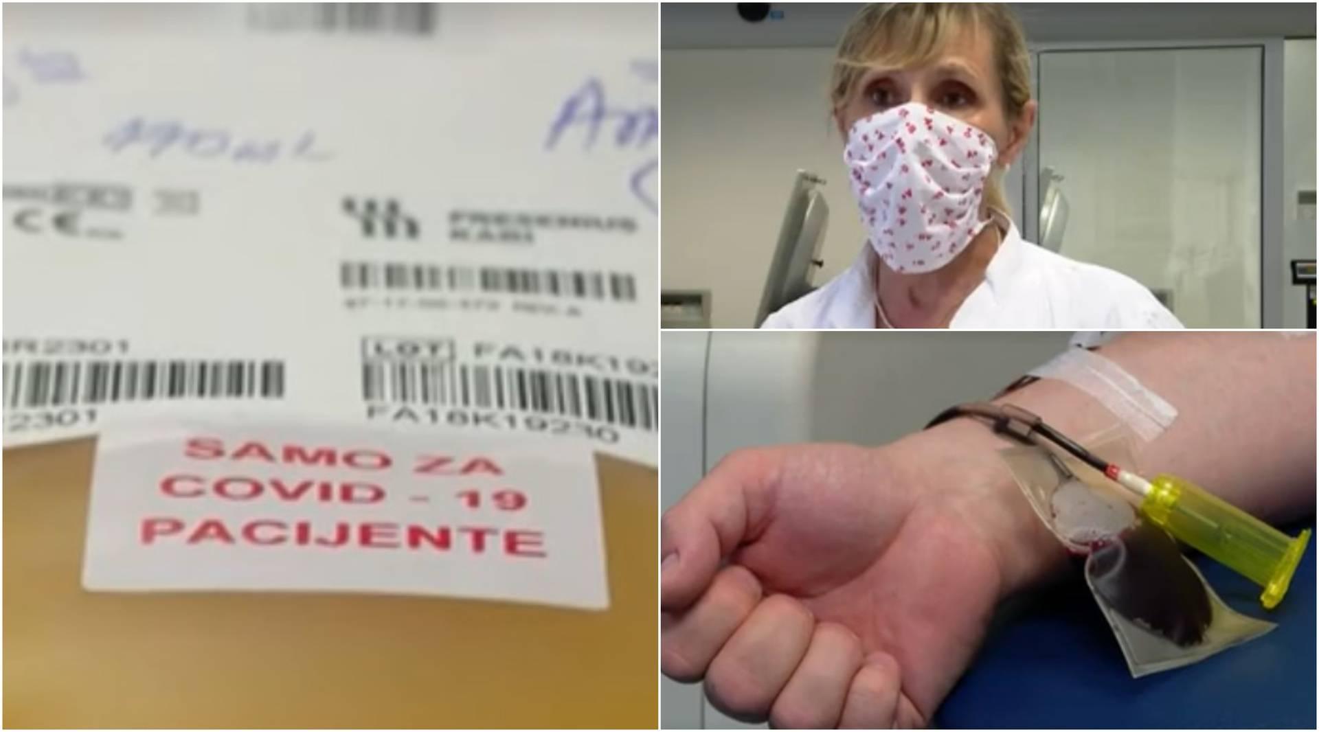 U Hrvatskoj će se od korone moći liječiti plazmom zaraženih