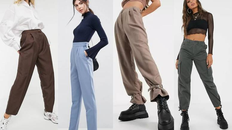 5 modela komotnih hlača - ako su vam dosadile tajice i skinny