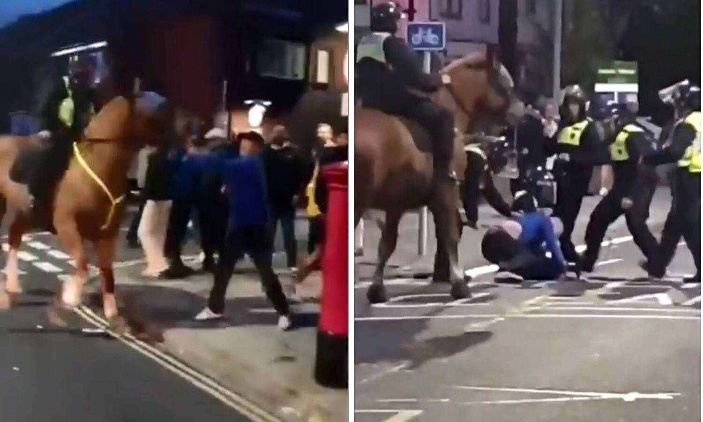 Pa ti izazivaj: Pokušao udariti policijskog konja, sredili ga...