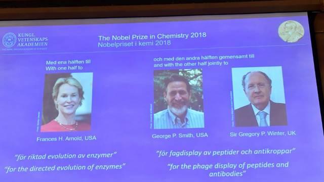 Nobelovu nagradu za kemiju dobila žena: Tek peta u povijesti