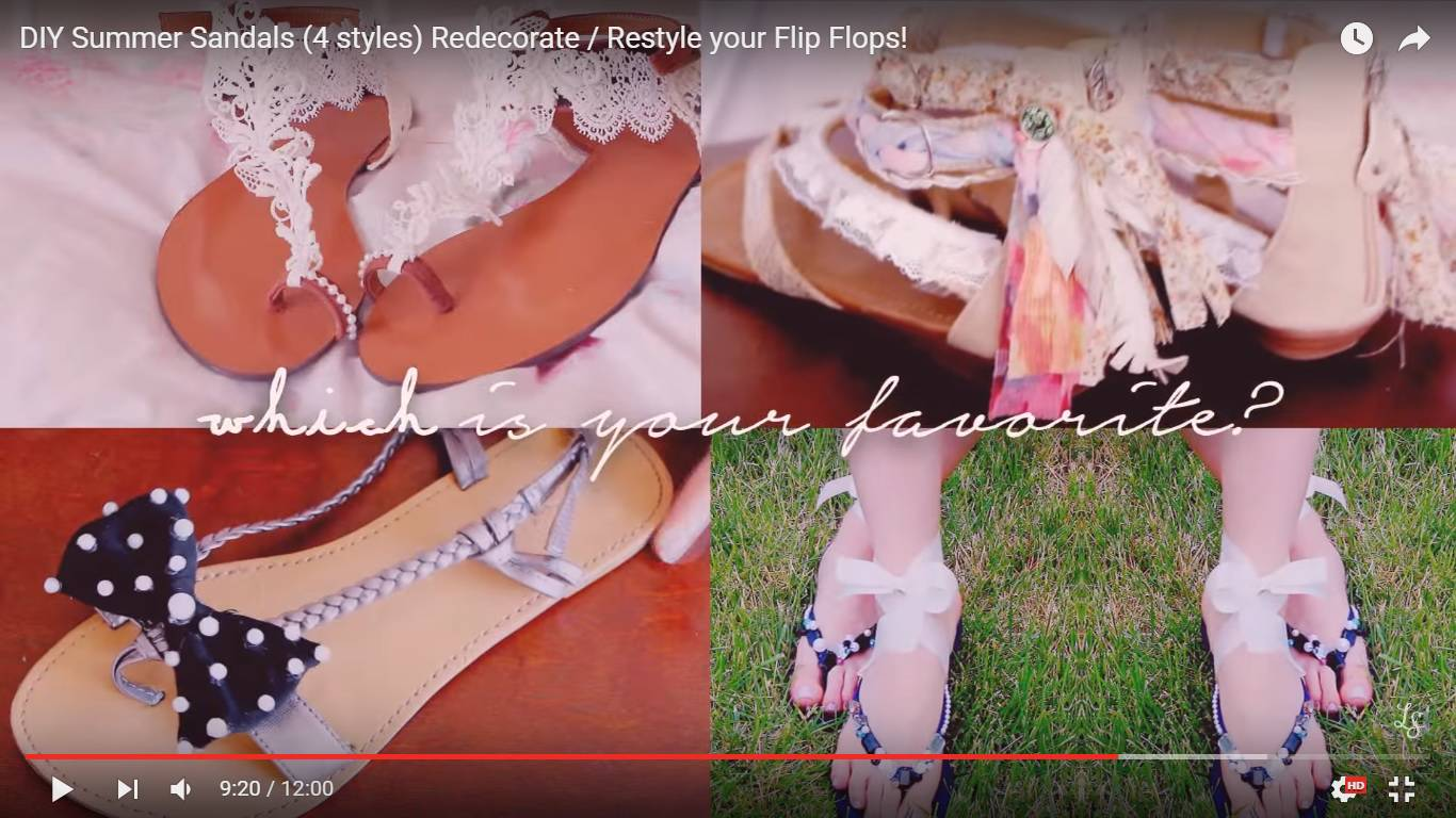 Tako lako: Nemojte kupovati nove sandale, napravite ih sami