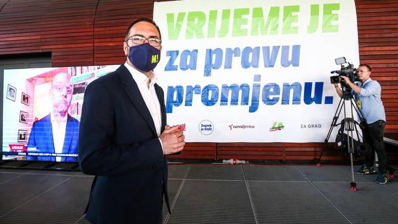 Lokalni izbori: U Zagrebu Zeleno-lijevoj koaliciji 45,96 posto glasova i 24 mandata