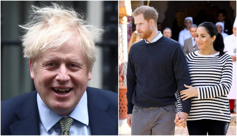 Premijer Johnson: 'Svi želimo Meghan i Harryju sve najbolje'