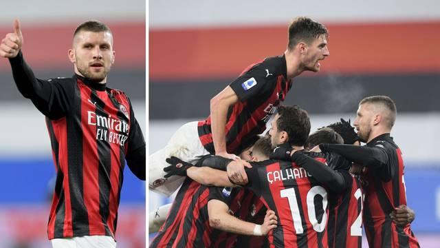 Milan ne staje, gol tehnologija Rebiću 'oduzela' briljantan gol!