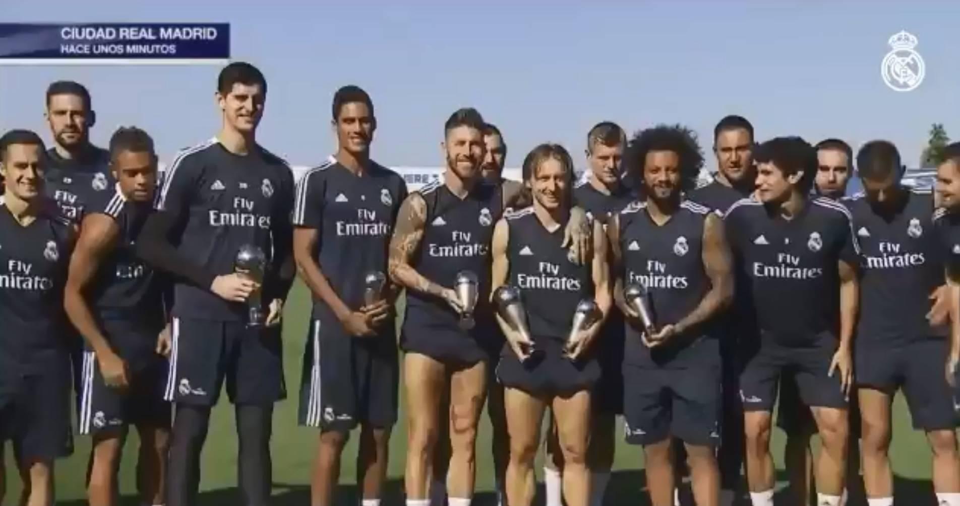 Modrić: Volio bih da su Messi i Ronaldo bili na dodjeli nagrada
