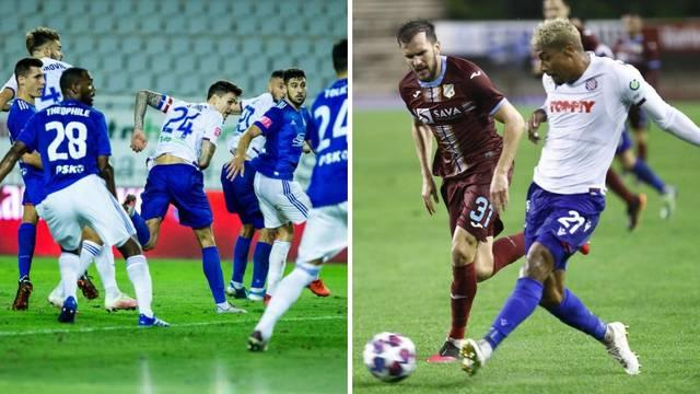 Hajduk u mjesec dana po dva puta igra s Rijekom i Dinamom