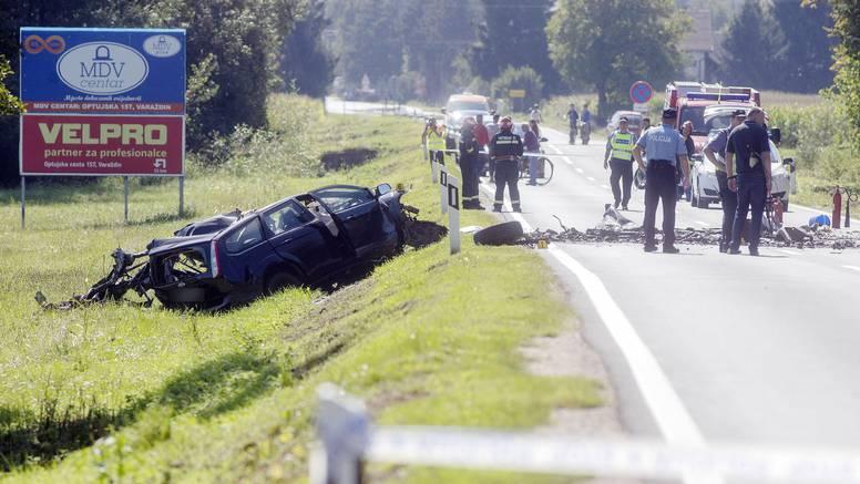 Užas kod Ludbrega: Muškarac poginuo u stravičnom sudaru osobnog automobila i kamiona