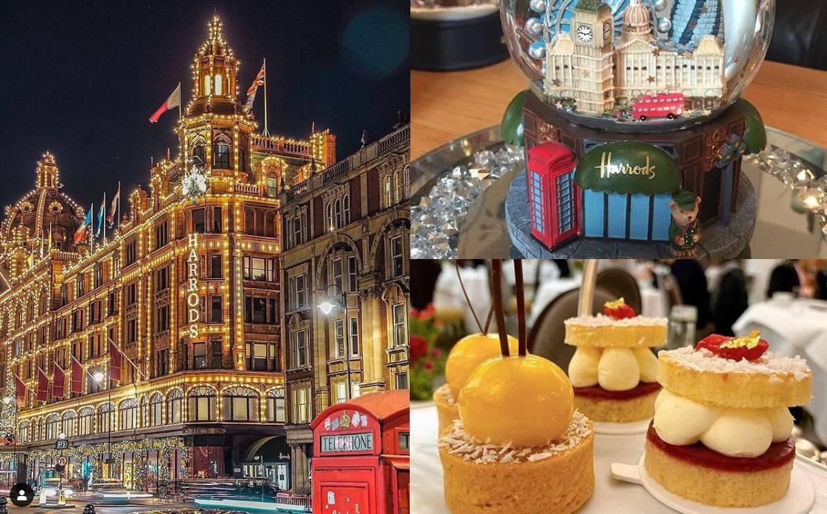 Božić u Harrodsu: Sva raskoš luksuzne robne kuće u Londonu