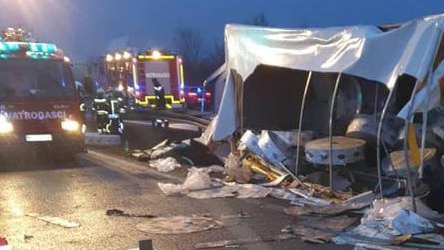 Troje ozlijeđenih u nesreći na A3 pozitivni na koronu: 'Nisu imali simptome, moraju u karantenu'