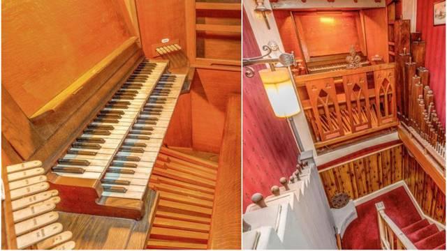Ženi glazbenici napravio orgulje - i sakrio ih unutar vlastite kuće