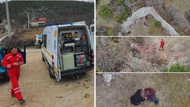 Odlutao od kuće i pao s ograde u Ugljanima: Pronašao ga dron